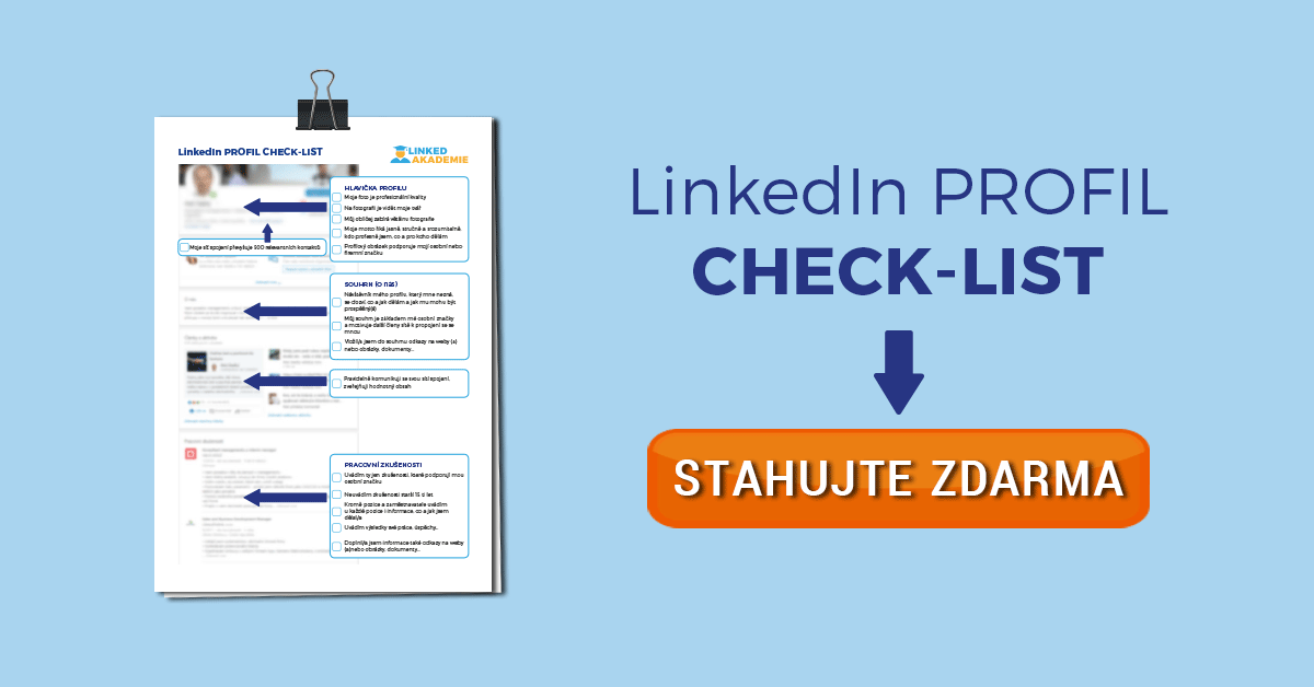 LinkedIn profil check-list